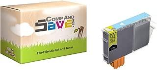 CompAndSave Replacement Canon MultiPASS F80 Printer Inkjet Cartridge, Canon BCI-3ePC Photo Cyan Ink Cartridge