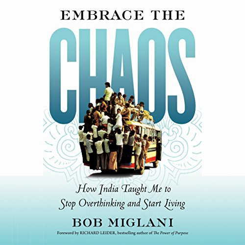 Embrace the Chaos audiobook cover art