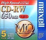maxell CDRWH74MQ.1P5S データ用CD-RWメディア650MBハイスピードライター対応