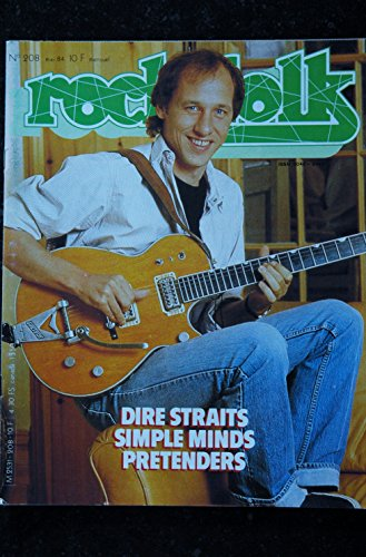 ROCK & FOLK 208 Dire STRAITS SIMPLE MIND PRETENDERS Alpha Blondy
