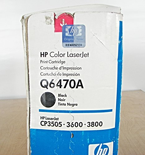Calitoner Remanufactured Laser Toner Cartridge Replacement for HP Q6470A (502A) - Black Photo #5