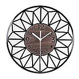 ENCOFT Vintage Francese Adesivo Orologio da Parete in Legno in Stile di Toscana Ottimo Disegno
