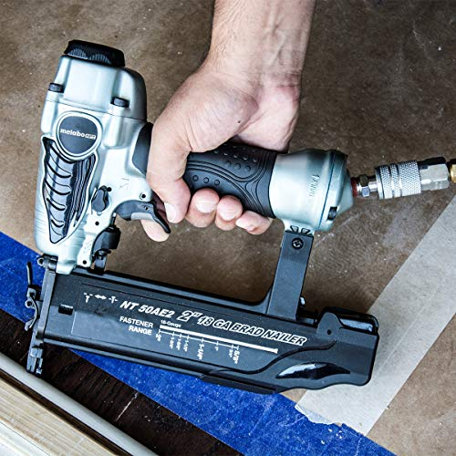 Attaching Molding with a Nailer