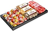 Taboom Premium Gift Set, With Popinsanity Gourmet Popcorn, Lindt Chocolates & Heart Shaped Jolly Rancher Jelly Beans | for Women, Mom, Wife, Girlfriend, Perfect For Valentines Day Chocolate Gift Set