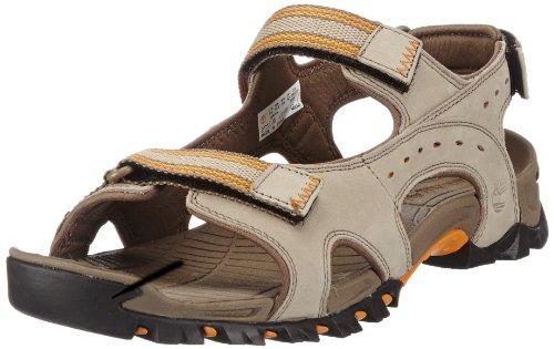 Timberland WAKEBY Sandal Greige Sportivi Uomo, Marrone Scuro (Braun (Light Brown), 47.5