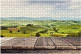 Residential in Tuscany Italy Toscana Scene Royalty Piece Rompecabezas para adultos Juguete educativo para niños Rompecabezas creativos de madera para decoración del hogar, 500 piezas 52 * 38 cm