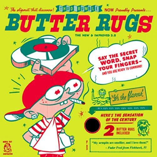 butter rugs black