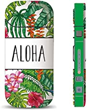 iQOS スキンシール 【 iQOS専用 】 ハワイ ハワイアン 柄 ボタニカル 花柄 オシャレ かわいい 人気 海外 トレンド iQOS アイコス 表・裏・側面 全面対応