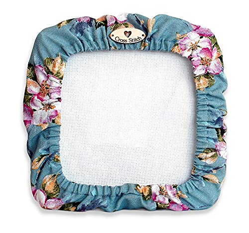 """Grime guards cross stitch 11 x 11 grime guard for qsnap 11""""×11"""" flowers cross stitch supplies q-snap frame floral embroidery accessories storage craft gift for stitcher"""