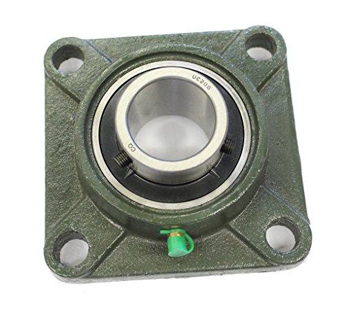 UCF 208 / UCF208 Flanschlager (4-Loch; 40mm) mit Metallschutzlack für Innendurchmesser 40mm Bohrung/Flanschlagereinheit UC F208