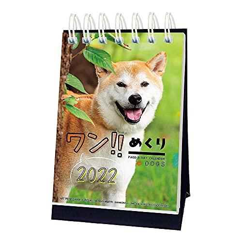 2022年 ワン!!めくり カレンダー 1000120058 vol.015