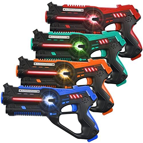 kolegend Laser Tag Set, Laser Tag Guns Set of 4...