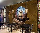 Papel Pintado 3D Pasaje De Pared De Piedra Cueva Abstracta Fotomurale 3D Tv Telón De Fondo Pared Decorativos Murales