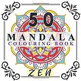 50 Mandala colouring book: adults colouring book ,large sized 8.5x8.5 ,mandala designs and patterns ,(meditation coloring book)MANDALA colouring book for adults