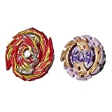Beyblade Burst Rise Hypersphere Dual Pack Master Devolos D5 and Forneus F5 -- 2...
