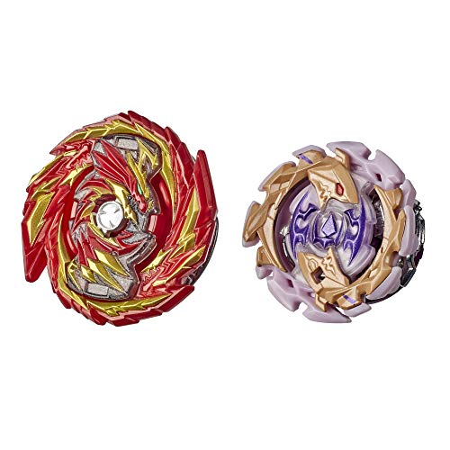 Beyblade Burst Rise Hypersphere Dual Pack Master Devolos D5 and Forneus F5 -- 2 Right-Spin Battling Top Toys, Ages 8 and Up
