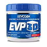 Evogen EVP 3D   Xtreme Pre-Workout Pump Ignitor, Arginine Nitrate, Citrulline, Beta-Alanine, Lions...