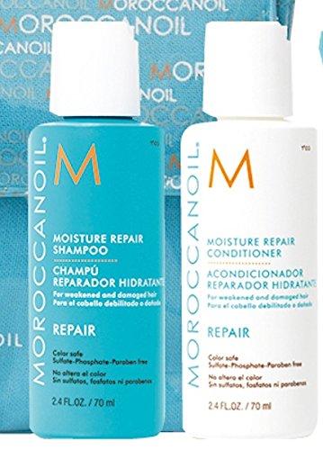 Moroccanoil Moisture Repair Shampoo & Conditioner Reisegrößen á 70ml im Set