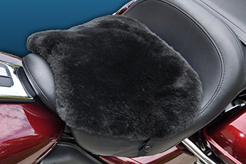 Skwoosh XL Touring Natural Sheepskin Motorcycle Pad with Gel Insert XLSH0715