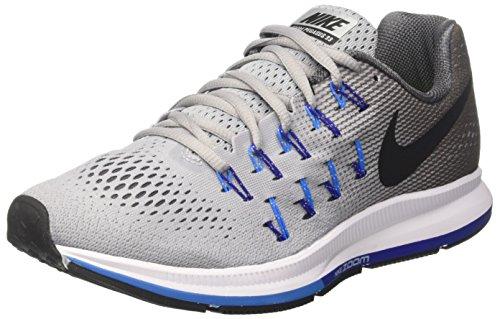 Nike Air Zoom Pegasus 33 - Zapatillas de running para hombre, color gris (wolf...