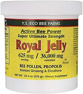Ys Bee Farms, Royal Jelly Bee Pollen Propolis Ginseng, 20.3 Ounce
