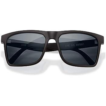Sunski Taraval Recycled Plastic Polarized Lightweight Comfortable Durable Sunglasses for Men and Women