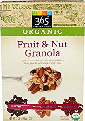 365 Everyday Value, Organic Fruit & Nut Granola, 17 oz