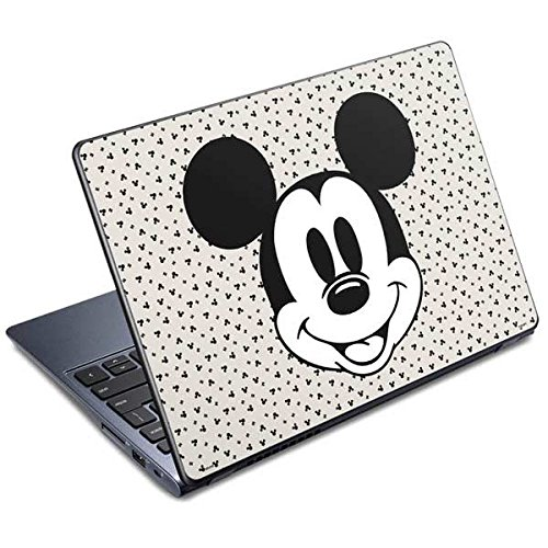 Skinit Decal Laptop Skin Compatible with C720 Chromebook - Officially Licensed Disney Classic Mickey Mouse Design