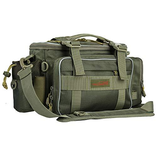 Goture(ゴチュール) フィッシングバッグ 3 WAY 多機能 タックルバッグ 渓流バッグ 船釣り ショルダーバッグ...