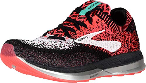Brooks Bedlam, Scarpe da Running Donna, Multicolore (Pink/Black/White 656), 36 EU