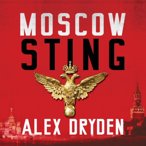 Moscow Sting audiobook cover art