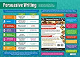 EDUCATIONAL CHART DESIGNED BY TEACHERS: Our Persuasive Writing poster is in line with the Common Core State Standards (CCSS) and helps students to learn, engage and remember more information than ever before. Covering the basics of persuasive writing...