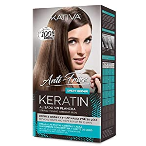 Kativa Keratin Anti-Frizz Alisado Sin Plancha Repara Puntas 30 DãAs 200 g