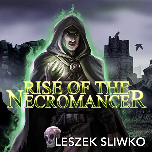 Rise of the Necromancer audiobook cover art
