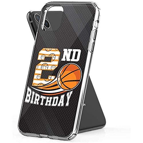 Gustave Tomlinson Funda Teléfono Baloncesto Cumpleaños 2o para Niños Niños Niñas Años (Diagonal de 6.5 Pulgadas Compatible con iPhone 11 Pro MAX)