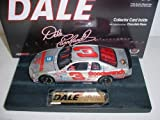 Dale Earnhardt Sr #3 Dale The Movie 1/24th Scale Diecast Silver 'Quick Silver' Monte Carlo 1995 Winston Cup All Star Race Charlotte Debut of Special Paint Scheme Car Motorsports Authentics (AKA Action Racing Collectables) Limited Edition Mounted On Heavy Display Base Hood Opens, Trunk Opens HOTO