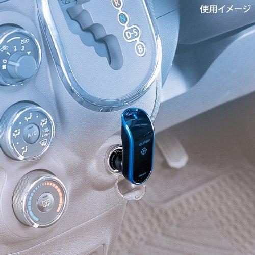 カーメイト車用マイナスイオン発生器シガーソケット取り付け型ブラック&ブルーKS621