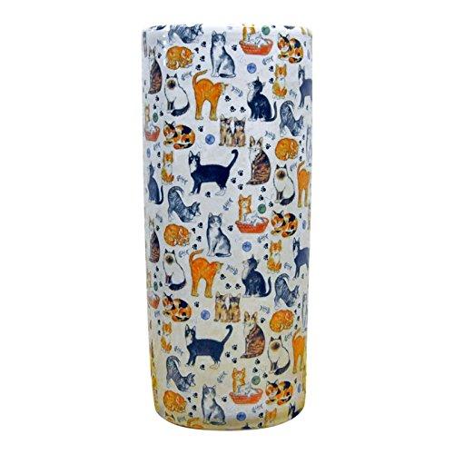 """AcaciaHome 18""""los Amantes de los Gatos Gato Animales de cerámica Soporte de Paraguas"""