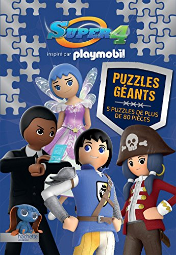 Playmobil Super 4 / Grand Livre Puzzle (Super 4 Playmobil)
