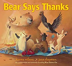 Bear Says Thanks - Books that teach children to be thankful: Thankful Jar: A Chalk Talk Vlog YouTube Hop Clever Classroom blog