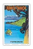 Tom Hoyne Poster, Reno, Nevada – Lake Tahoe, California