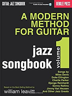 A Modern Method for Guitar: Guitar: Jazz Songbook: 1 (GUITARE)