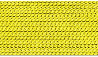 Griffin 1mm Thick Silk Cord Yellow - Size 16