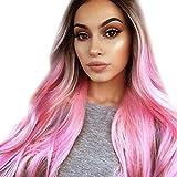 Naturelle Wig Femmes Perruque Cheveux Longues Femme Perruque Cheveux Bouclés Cosplay...