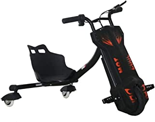 VLRA BIKE Drifting power scooter electric hign speed 3 wheels (12V BLACK)
