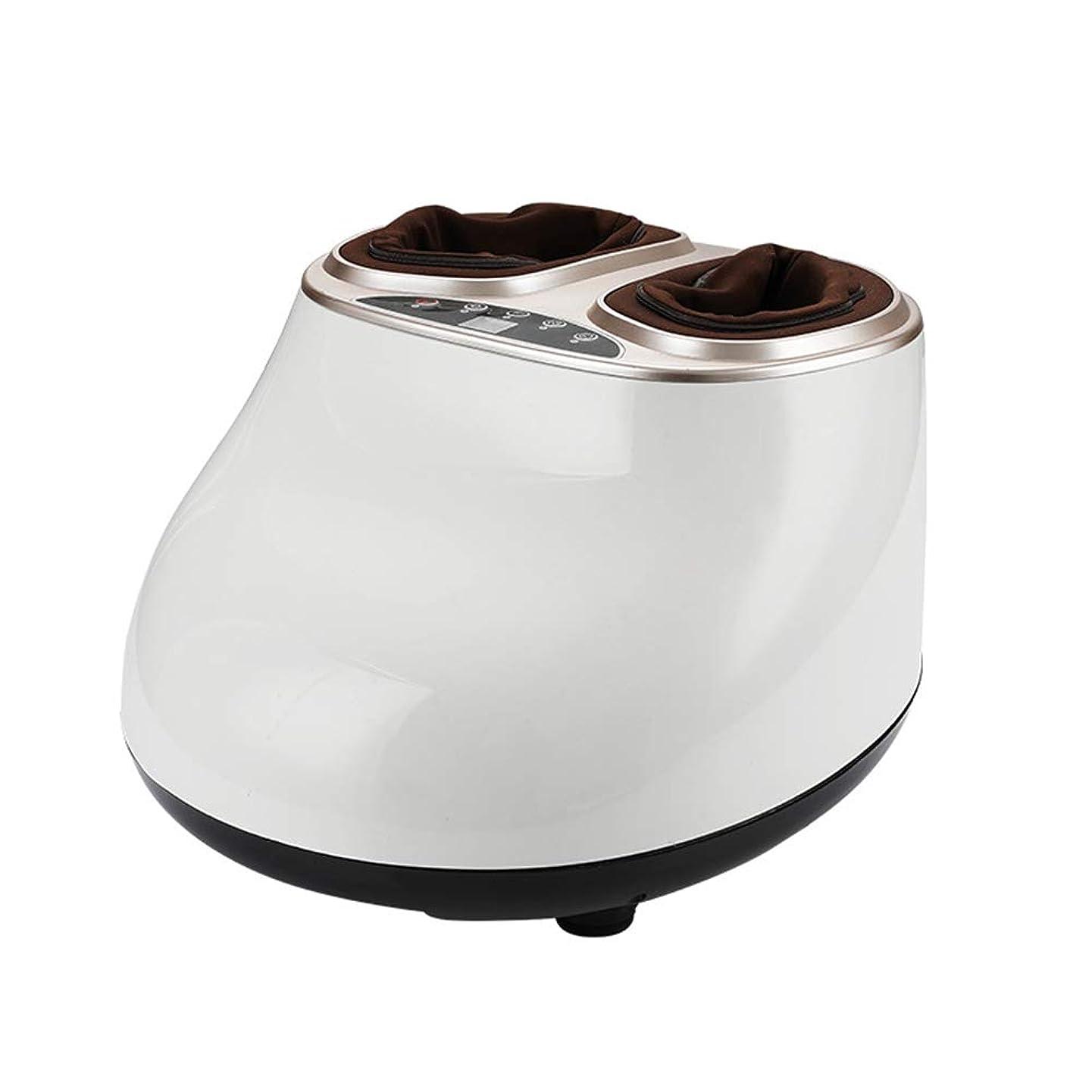 徹底的にしかしながらチョップ指圧電動足マッサージ機、熱、ローリングおよび空気圧縮による深部組織練りによる足裏マッサージ、足底筋膜炎慢性神経痛治療のための調整可能な強度