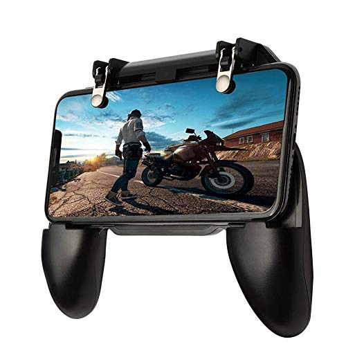 Oluote Mobile Game Controller, Gaming Trigger Smartphone Shooter Sensitive Controller Joysticks PUBG Mobile, for 4.7-6.5 Inch Smartphone