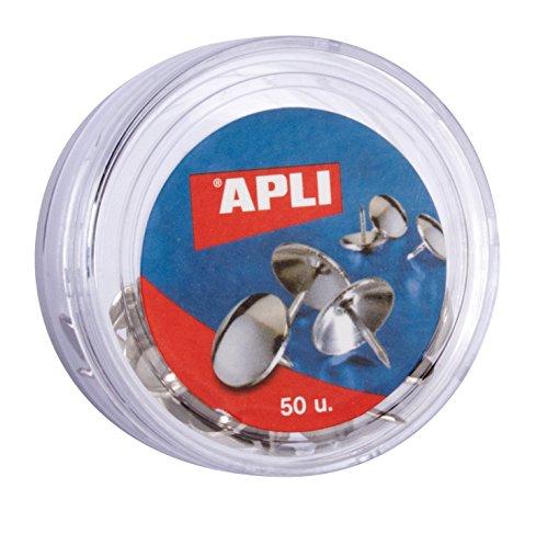 APLI 11725 - Puntine nichelate, 50 pezzi