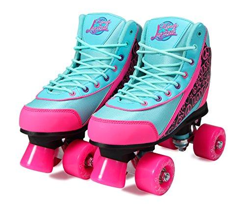 Kandy-Luscious Skates Summer Days Rollschuhe, Blaugrün/Pink, Teal, Pink, Black, 2