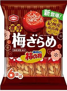 亀田製菓 亀田の柿の種 濃厚梅ざらめ 135g ×12袋
